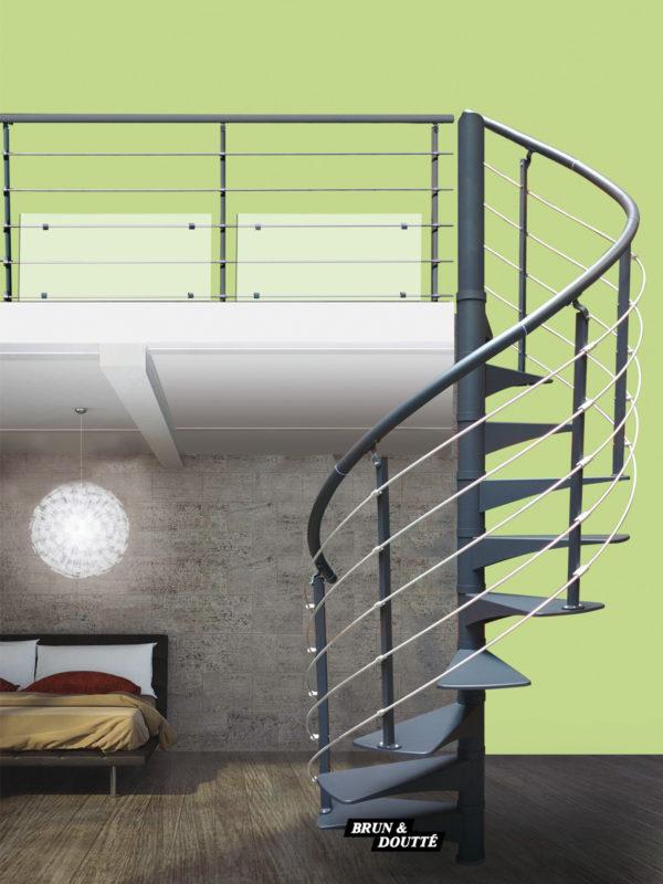 OSLO escalier hélicoïdal adaptable