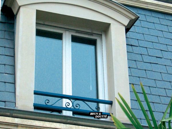 À VOLUTES barre d'appui de fenêtre acier