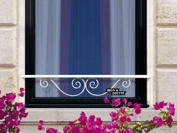PONTOISE barre d'appui de fenêtre acier