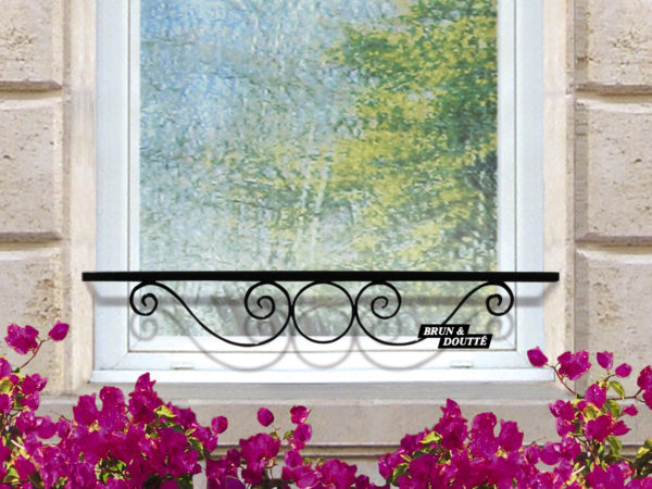 COGNAC barre d'appui de fenêtre acier