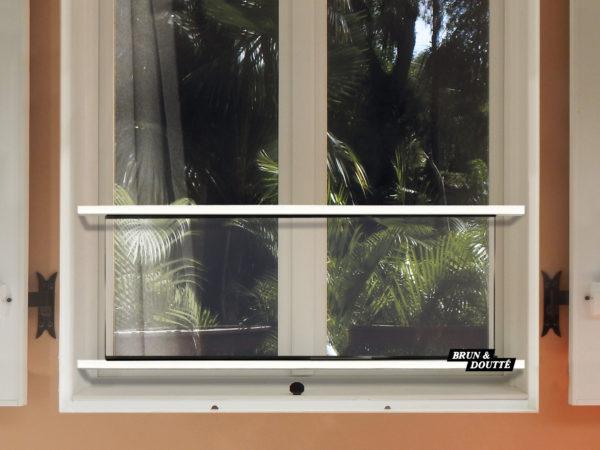 HOLLYWOOD 40 barre d'appui de fenêtre acier
