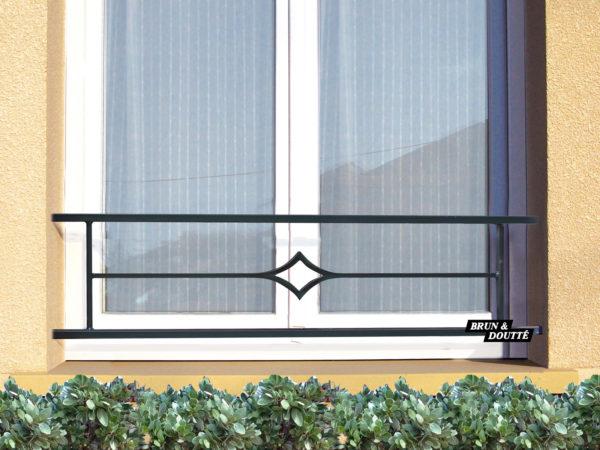 SOFIA barre d'appui de fenêtre acier