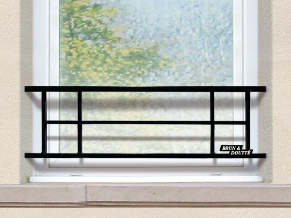 ANNECY 29 barre d'appuide fenêtre acier