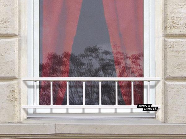 LACANAU 25 barre d'appui de fenêtre acier