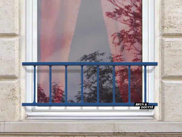 LACANAU 35 barre d'appui de fenêtre acier