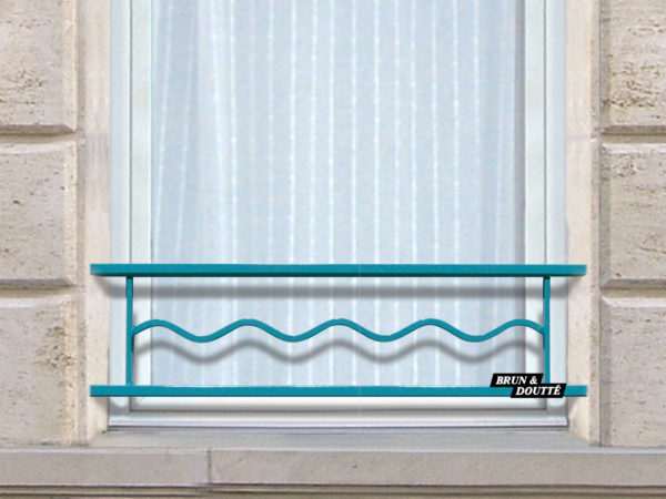 SAHARA 25 barre d'appui de fenêtre acier