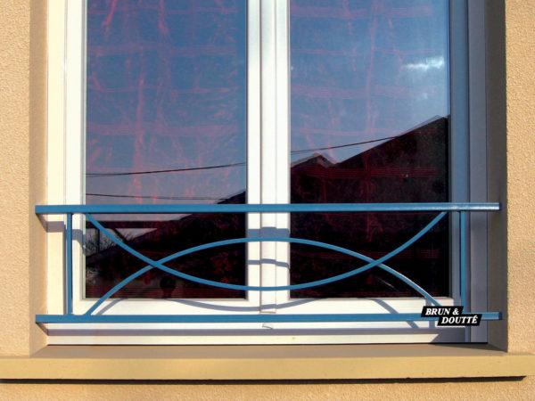 PACIFIC barre d'appui de fenêtre acier