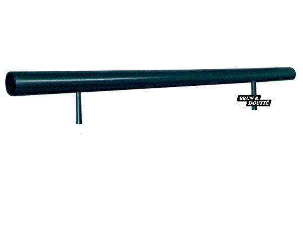 MAIN COURANTE SUR MURET barre d'appui de fenêtre acier