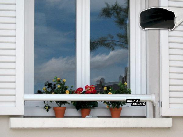 NANTES barre d'appui de fenêtre aluminium