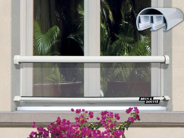 LOS ANGELES barre d'appui de fenêtre aluminium