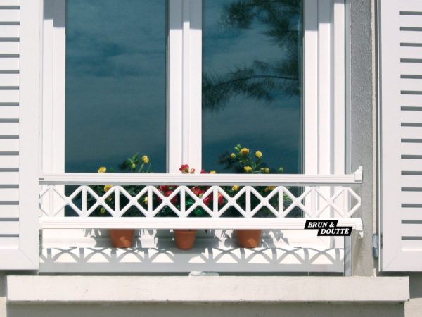 BAYONNE 19 barre d'appui de fenêtre aluminium