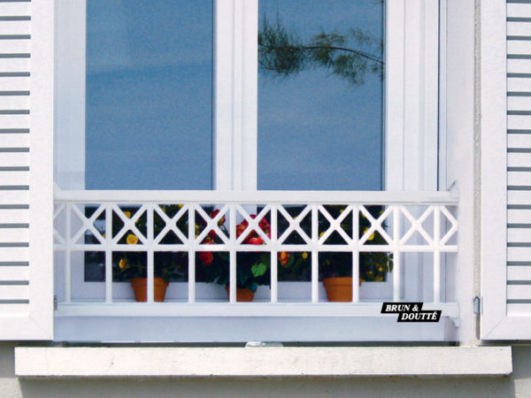 Bayonne 35 barre d'appui de fenêtre aluminium