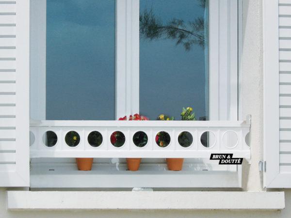 VALENÇAY 18 barre d'appui de fenêtre aluminium