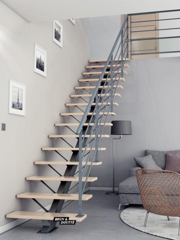 BROOKLYN escalier d'intérieur