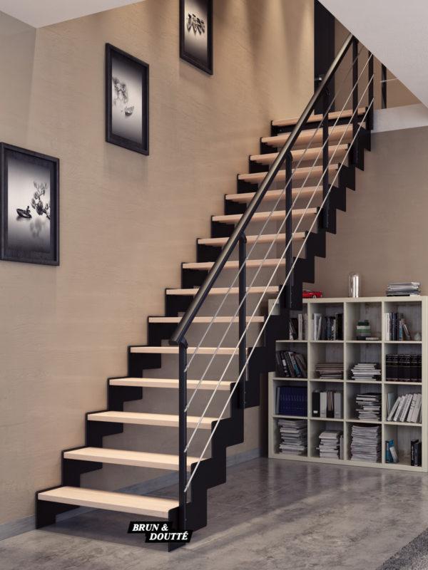 INDIANA escalier d'intérieur