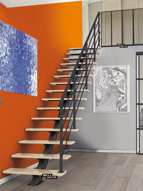 NEW YORK escalier d'intérieur