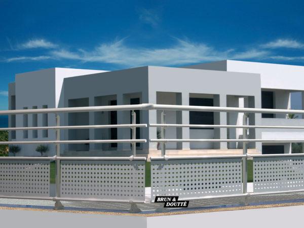 DJIBOUTI garde-corps aluminium