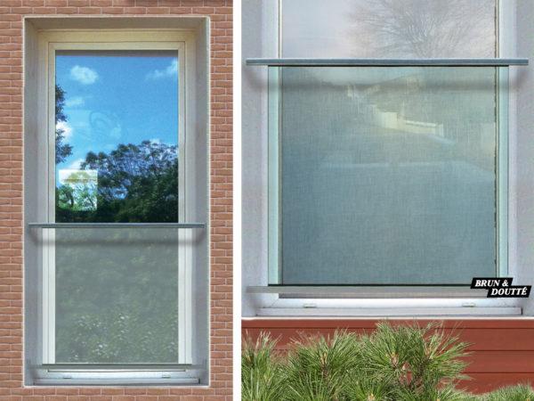 HOLLYWOOD Garde-corps de fenêtre acier