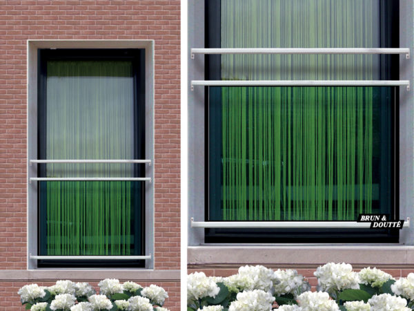 MANHATTAN Garde-corps de fenêtre acier
