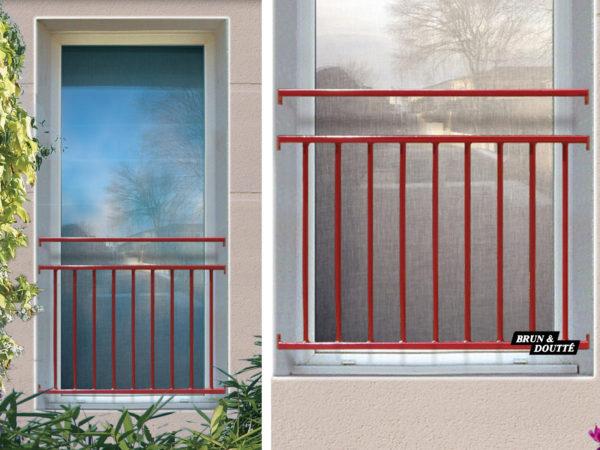 BOULOGNE Garde-corps de fenêtre acier