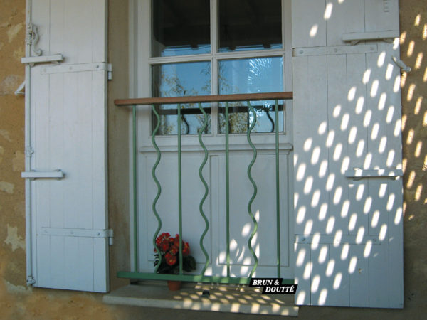 LAZURE Garde-corps de fenêtre acier