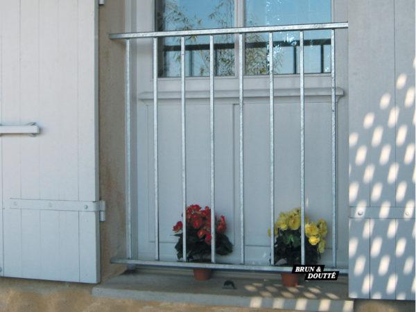 LACANAU Garde-corps de fenêtre acier