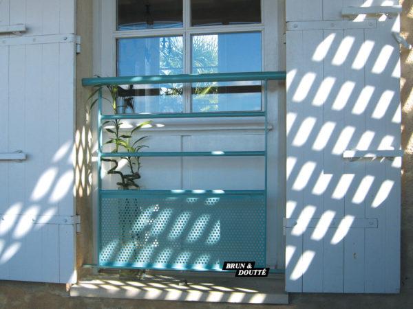 HORIZON garde-corps de fenêtre acier