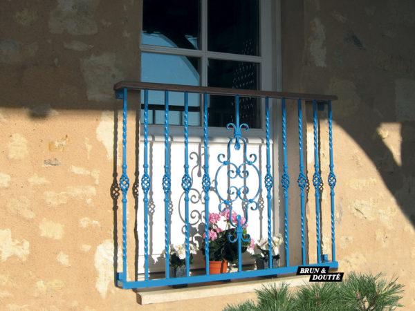 PRESTIGE Garde-corps de fenêtre acier