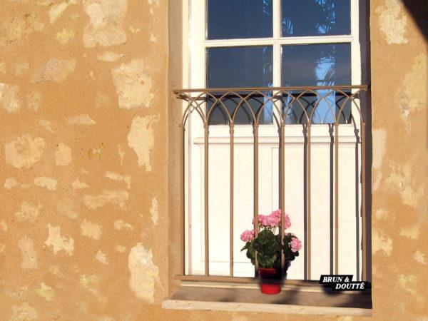 BARCELONE Garde-corps de fenêtre acier