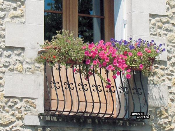 ALSACE Garde-corps de fenêtre acier