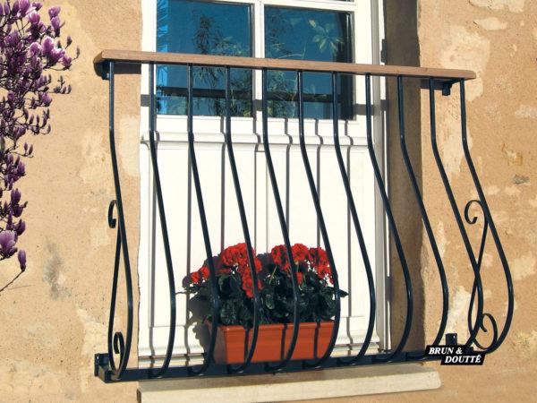 GARONNE Garde-corps de fenêtre acier