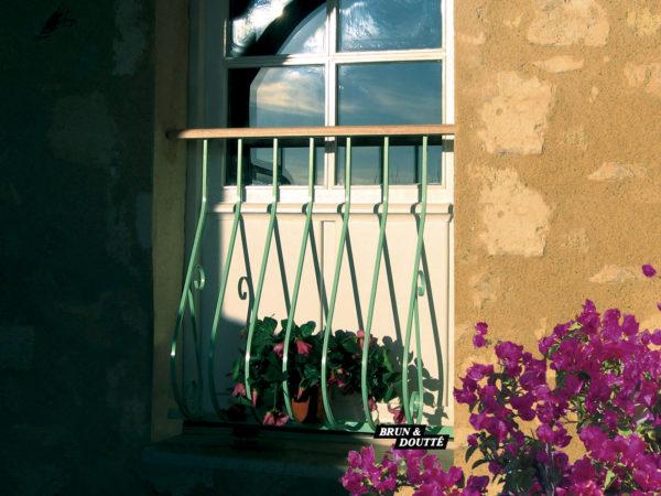 SOLOGNE Garde-corps de fenêtre acier