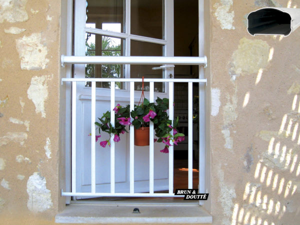 FLORIDE Garde-corps de fenêtre aluminium
