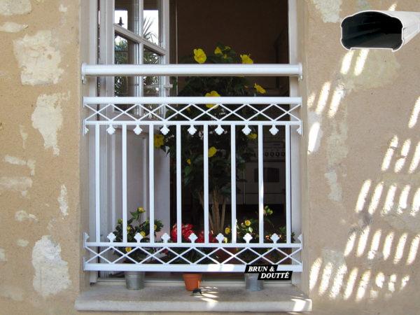 ARIZONA Garde-corps de fenêtre aluminium