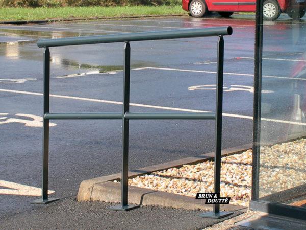 Rampes d'accès acier