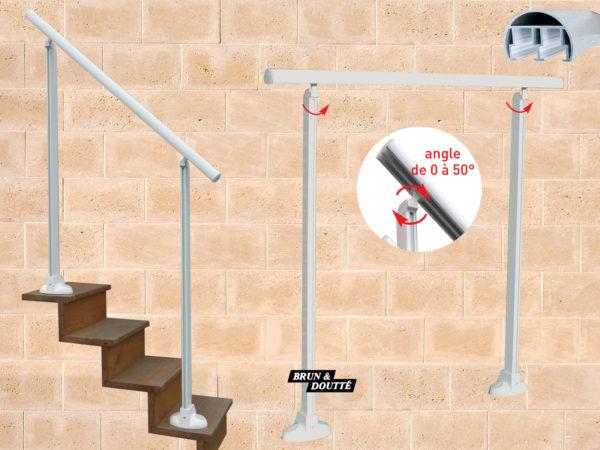 MÉRIGNAC rampes d'accès aluminium
