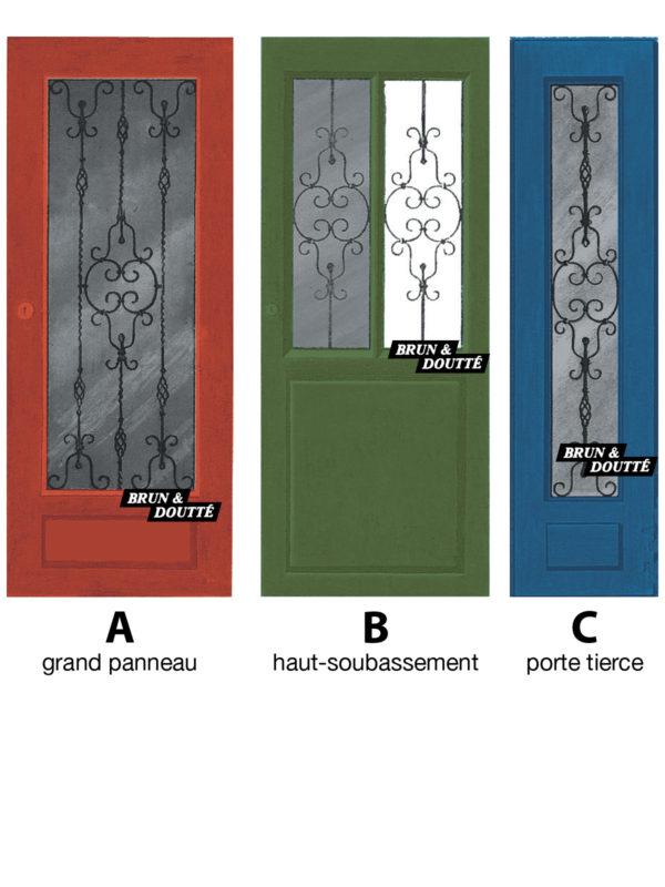 PRESTIGE grilles de portes