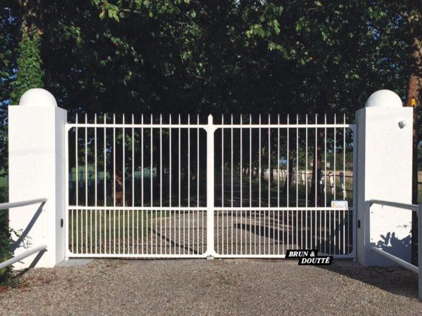 PÉRIGORD portail acier