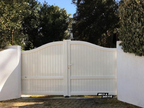 BASQUE portail aluminium