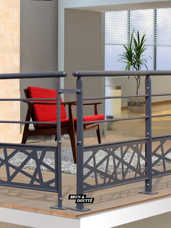 Rampes de Terrasses Size : 30cm S/écurit/é Fer Sorg/é Kit Garde-Corps Escalier Int/érieur Ext/érieur Fen/êtres Rampe Escalier Support Main Courante Balustrade Banister Handicap/és