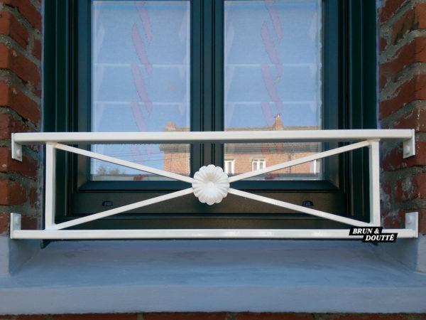 BORDEAUX barre d'appui de fenêtre acier