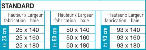 gar00 dimensions balconnet acier bordeaux 2m
