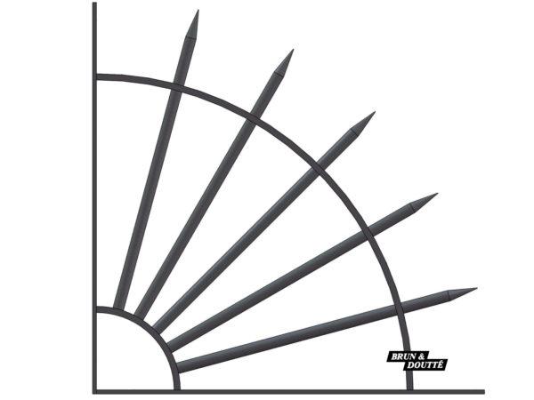 EVENTAIL de protection de balcon ou clôture